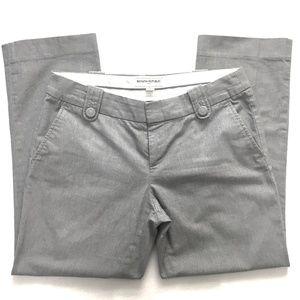 BANANA REPUBLIC Ract Tab Belt Crop Trouser SIZE 8